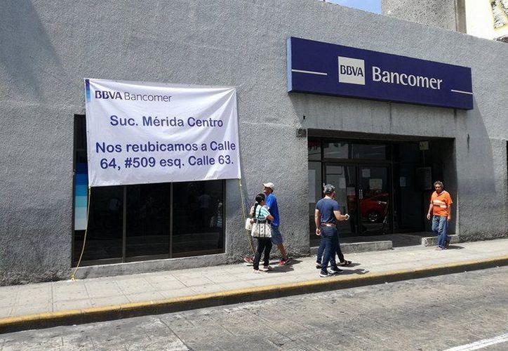 La nueva sucursal ubicada frente a Monjas  (también en el Centro de Mérida) ya se encuentra funcionando  (Fotos: José Salazar)