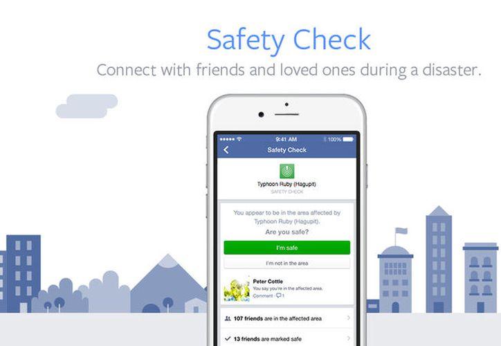 Facebook ha decidido activar su función Safety Check por el terremoto registrado en México. (Contexto/Internet).
