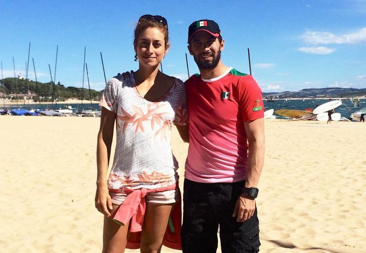 David Mier y Terán terminó en las posiciones 43, 40 y 44 en el campeonato mundial que se realiza en Santander, España. (Milenio Novedades)