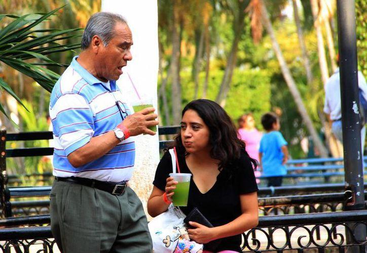 Mientras llegan las lluvias de la primera onda tropical, en Yucatán prevalecerán las altas temperaturas. (José Acosta/SIPSE)