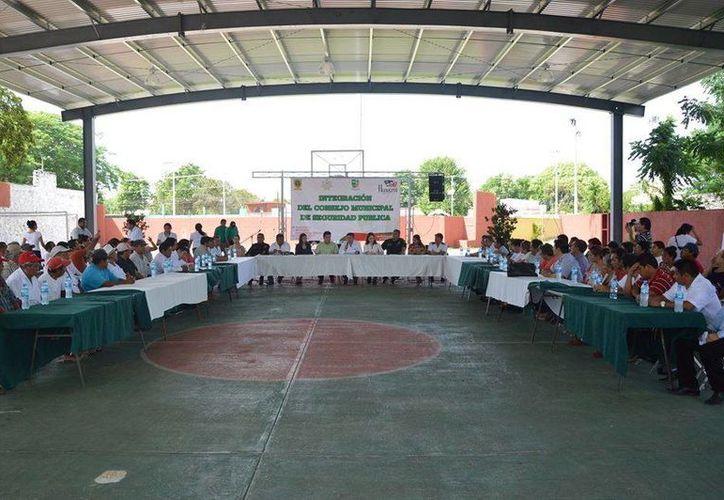 Reunión de los 33 Consejos Municipales de Seguridad Pública. (Milenio Novedades)