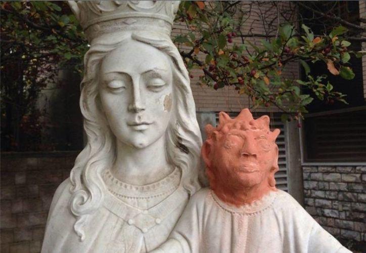 'Ella lo ha hecho con toda la bondad de su corazón', declaró el sacerdote al ver la restauración fallida. (terra,com)