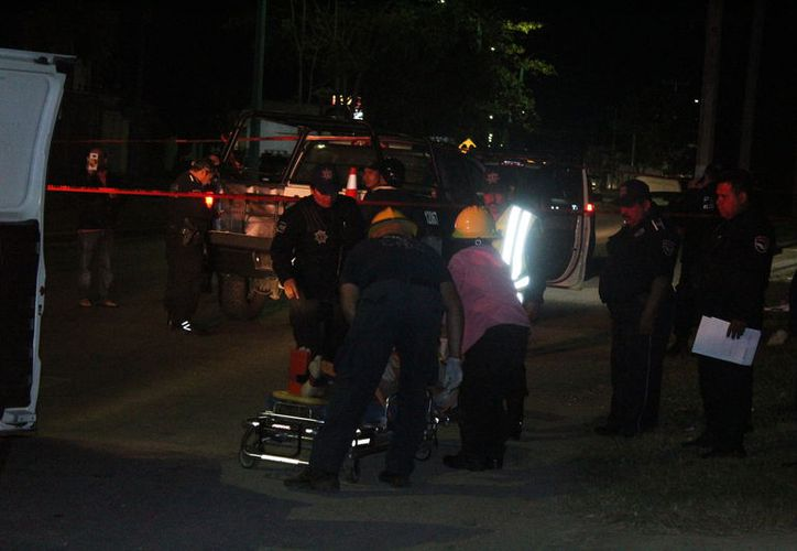 El policía que embistió al sujeto fue traslado al Ministerio Público para dar su declaración. (Foto: Redacción)