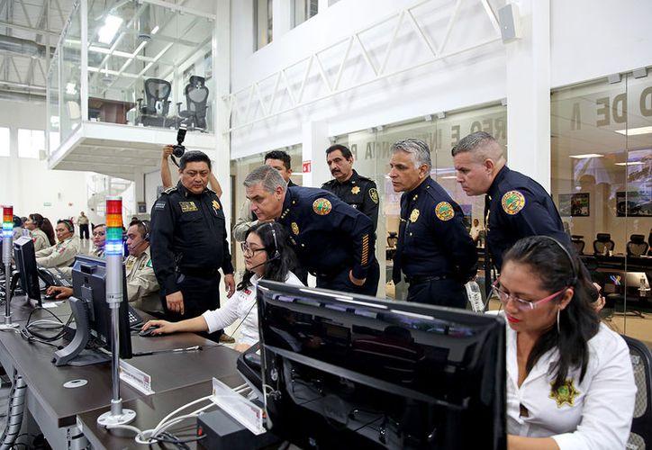 La Policía de Miami hará un diagnóstico de todas las área de la  Secretaría de Seguridad Pública (SSP) para elaborar un plan de capacitación. (Cortesía SSP)