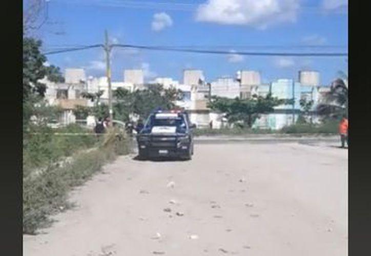 La zona fue acordonada por las autoridades municipales. (Redacción)