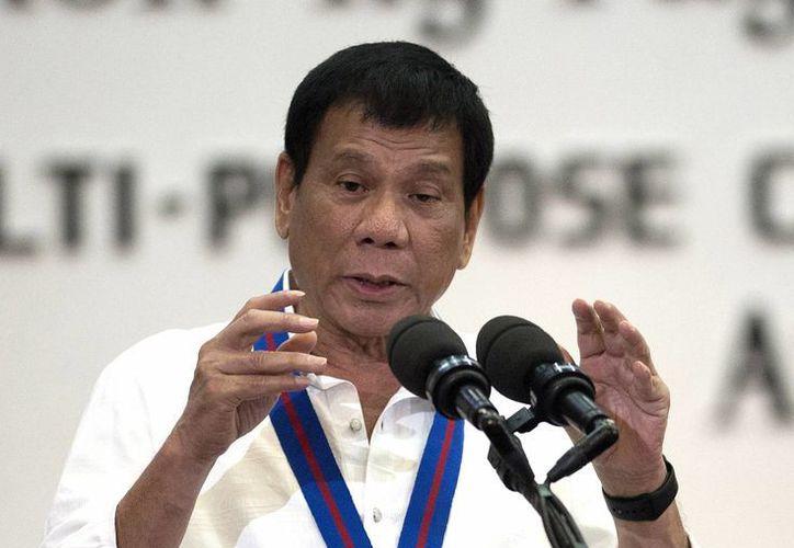 El presidente de Filipinas, Rodrigo Duterte, ha entrado en un conflicto con la ONU debido a sus declaraciones. El mandatario incluso ha calificado como 'inútil' a la organización. (Noel Celis/Pool Photo via AP)