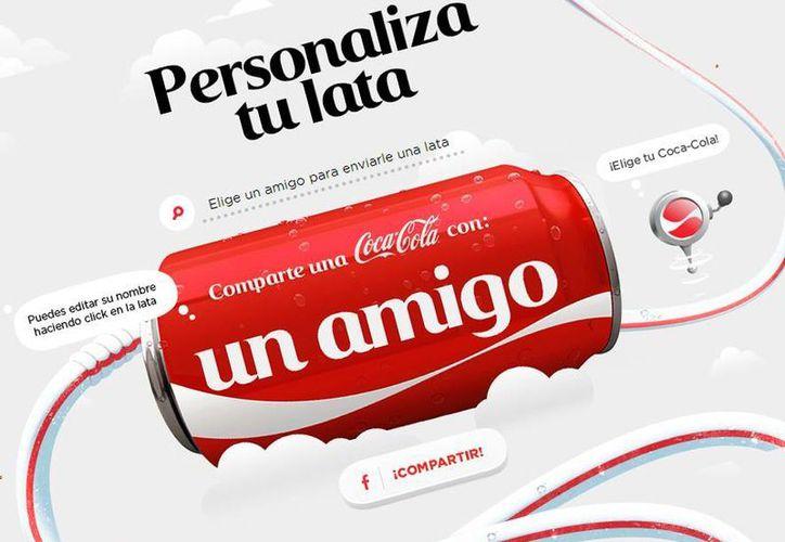 Los centros de personalización de Coca-Cola estarán en más de 20 estados de México, incluyendo Yucatán. (comparte.coca-cola.com.mx)
