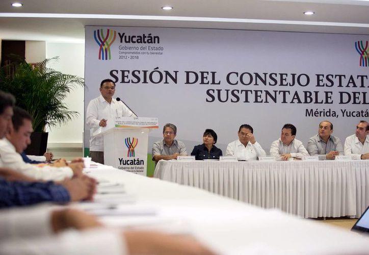Zapata Bello convocó a miembros del Consejo a difundir las reglas de operación de este esquema. (Milenio Novedades)