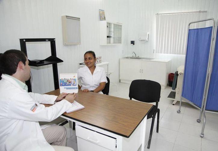 Personal de salud adscrito a la Jurisdicción Sanitaria Número Uno pernoctaron en los centros de salud de comunidades rurales. (Redacción/SIPSE)