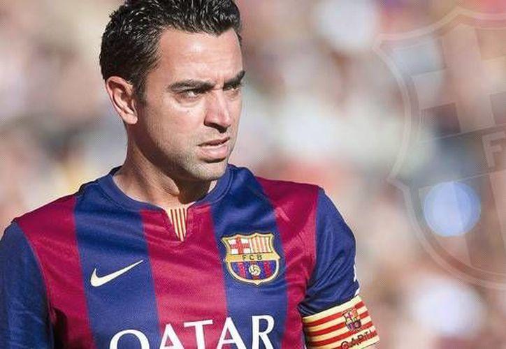 Xavi,en sus tres últimos partidos con el Barcelona puede conseguir el segundo triplete en su carrera futbolística (Fc Barcelona)