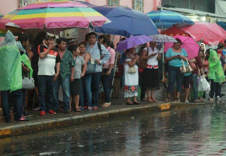 Para este viernes se esperan tormentas en la capital yucateca. (Jorge Acosta/ Milenio Novedades)