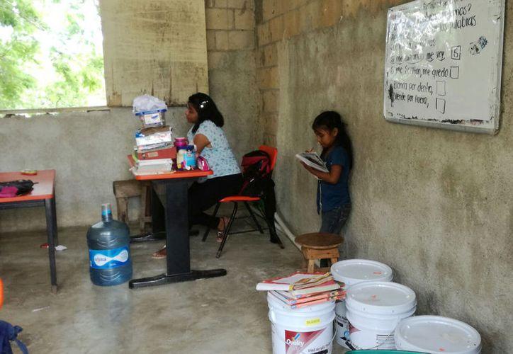 El centro de aprendizaje está ubicado en el asentamiento irregular Avante. (Luis Soto/SIPSE)