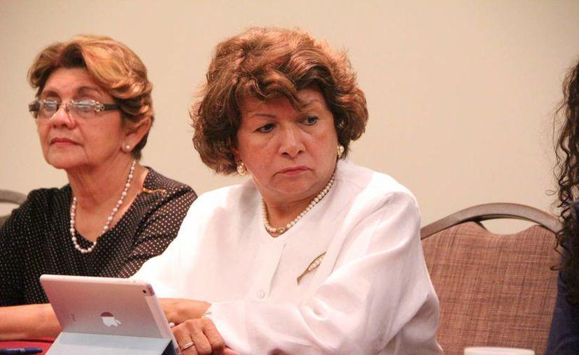 La dos veces alcaldesa panista Ana Rosa Payán Cervera quiere ser candidata de nuevo a ese cargo, aunque aún no sabe por cuál partido. (José Acosta/SIPSE)