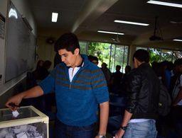 Estudiantes, con participación importante en estas elecciones