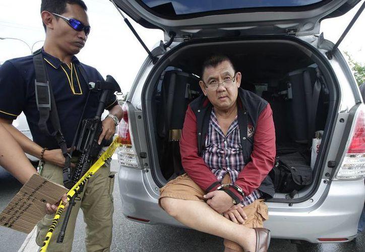 La Policía de Filipinas aseguró 200 kilos de droga que era transportada por 4 personas en una camioneta tipo van. Las metanfetaminas están valuadas en 22 mdd. (Agencias)