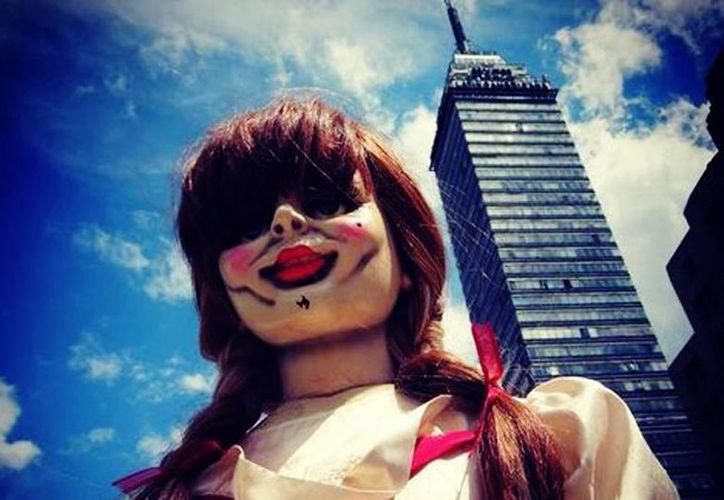 La película de Annabelle batió récord en México, al conseguir el mejor estreno para una película de su género en el país. (Twitter @wbpictures_mx/Milenio)