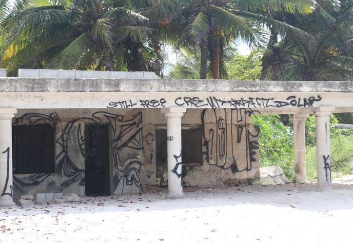 Los daños del huracán Isidore aún son visibles. (Fotografía: Daniel Sandoval/ Milenio Novedades)