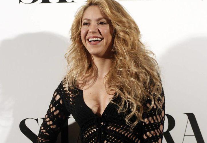 """Shakira, quien interpretará el tema """"La La La (Brazil 2014)"""", estará en un acto del Mundial por tercera ocasión, informó la FIFA en un comunicado. (AP)"""
