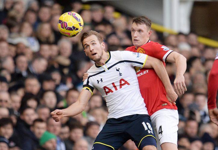 Tottenham y Manchester United empataron sin goles en el primer partido de la jornada 19 de la Premier League. (EFE)