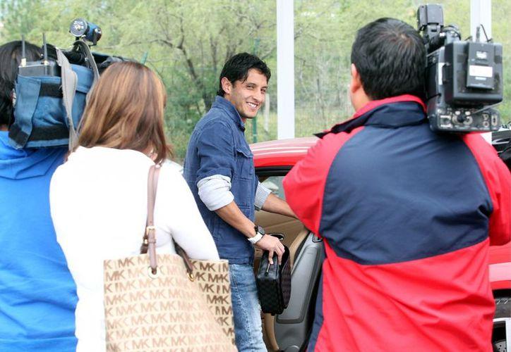 'Estoy contento de estar acá trabajando', aseguró Ángel Reyna. (Agencia Reforma)