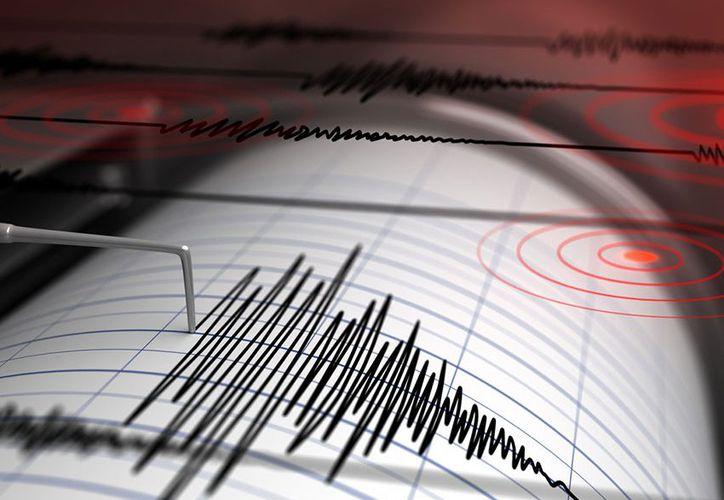 El servicio indicó que se trató de un sismo moderado.