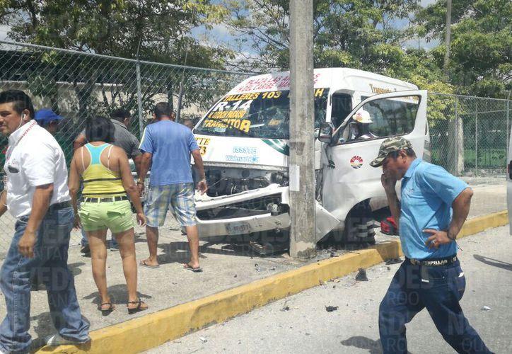 En el lugar no se reportan personas lesionadas. (Sergio Orozco/ SIPSE)