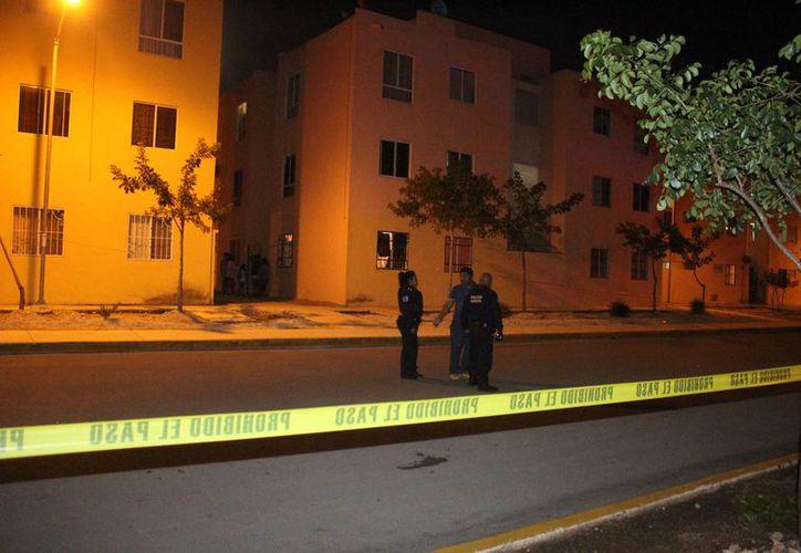 Los disparos se registraron sobre la calle Isla Hawai del fraccionamiento Paseos del Mar. (Redacción)