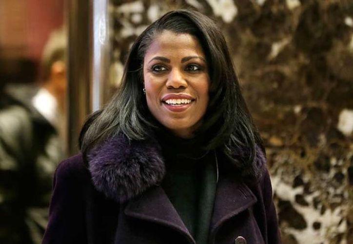 Omarosa Manigault Newman, principal asesora afroamericana. (Excelsior)