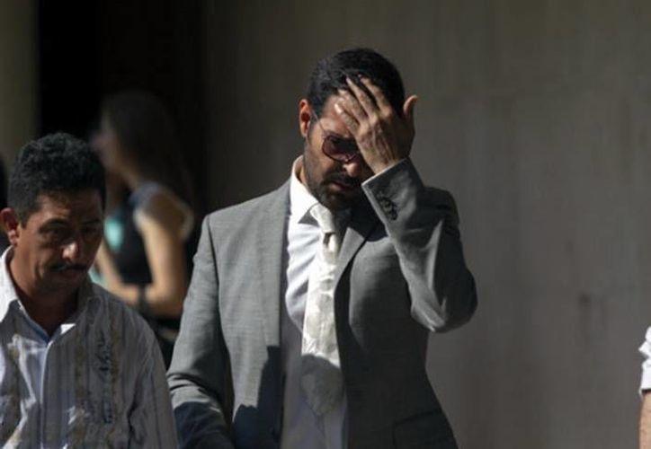 La ausencia de famosos en la despedida al hermano de Pablo Montero fue evidente, debido a que todo el proceso fue muy rápido y para el mediodía los restos del estilista ya habían sido incinerados. (Alejandro Álvarez/MILENIO)