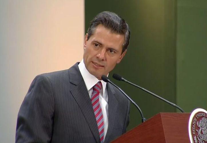 El presidente Enrique Peña Nieto, destacó la labor de la Comisión Nacional de Derechos Humanos. (Redacción/SIPSE)