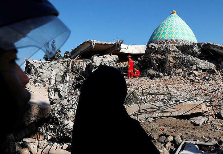 Los daños fueron devastadores en la Isla de Indonesia de Lombok. (Foto: actualidad.rt.com)