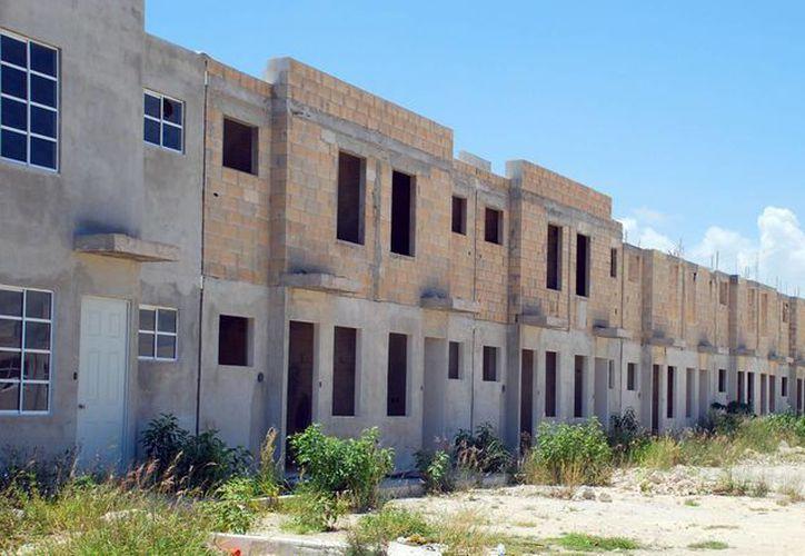 A nivel nacional, 540 mil créditos para la vivienda están programados. (Tomás Álvarez/SIPSE)