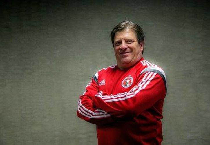 Miguel Herrera, exentrenador de la Selección Mexicana, es el nuevo técnico de Xolos (Cortesía Xolos )