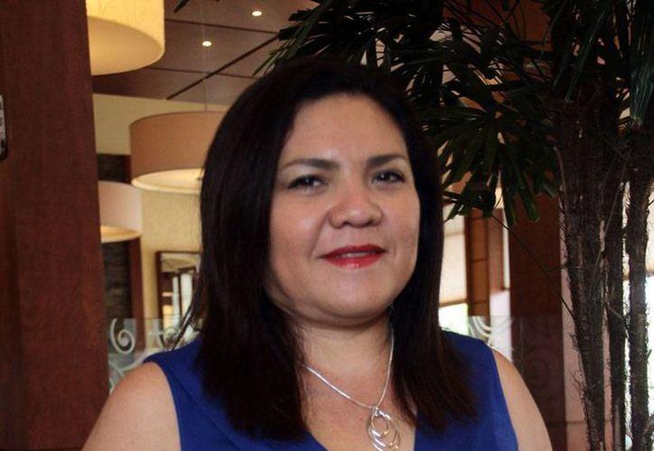 La senadora Rosa Adriana Díaz Lizama es la principal 'promotora' de adelantar las elecciones del Comité Directivo Municipal del PAN para destronar al actual presidente Hugo Sánchez Camargo. (Milenio Novedades)