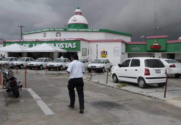Renovarán el Comité Ejecutivo del Sindicato de Taxistas. (Archivo/SIPSE)