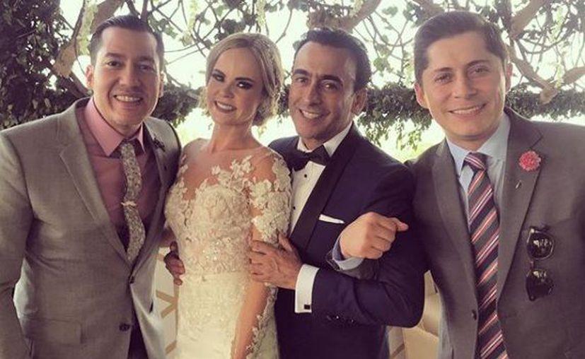 """Asistieron amigos y familiares del ex conductor de """"Otro Rollo"""". (Instagram)"""