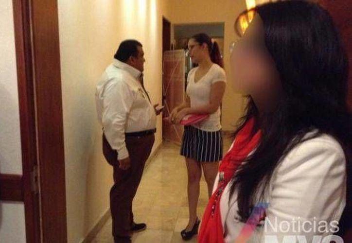 'Sandra' nunca mencionó sus apellidos a las jóvenes que llegaban a buscar trabajo como edecanes a las oficinas del PRI en la Ciudad de México. (Noticias MVS)
