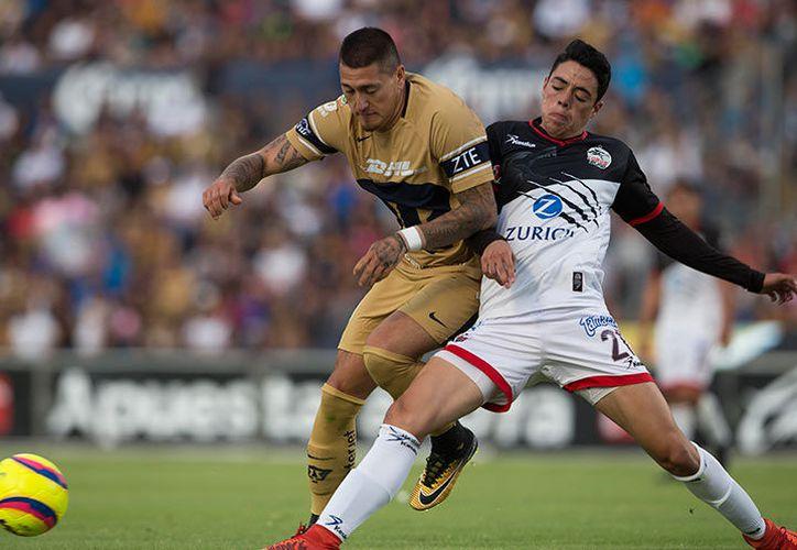 Falló Nicolás Castillo y Pumas empató 1-1 con el último lugar de la tabla: Lobos BUAP. (Foto: Excélsior).