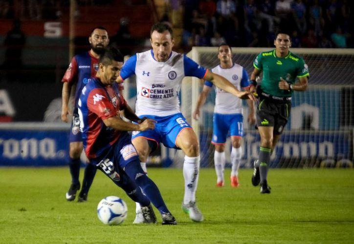 Cruz Azul ganó 1-0 al Atlante en partido de la fase de grupos de la Copa MX. (Foto de contexto de Notimex)