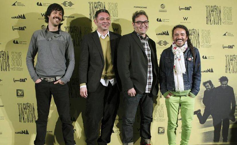 """Los tacvbos celebran también 20 años del lanzamiento de """"Re"""", disco que los catapultó fuera de México. (AP)"""