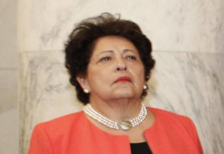Katherine Archuleta, directora de la Oficina de Administración de Personal del gobierno federal de Estados Unidos presentó su dimisión este viernes por el escándalo de robo de datos personales. (EFE/Archivo)