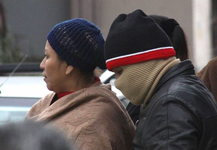 Una masa de aire frío asociada al frente número 14 mantendrá bajas las temperaturas en buena parte del país. (Notimex)
