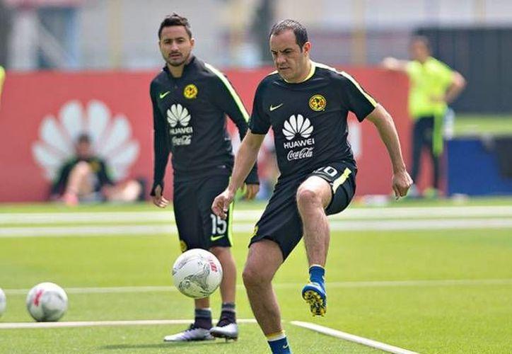 Este sábado se llevará a cabo el homenaje a Cuauhtémoc Blanco,en el partido entre América y Morelia. (Foto tomada de Facebook/Club América)