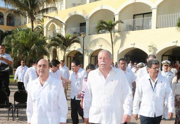 Murillo Karam pidió paciencia para el diseño de la estrategia de seguridad que se implementará en Tamaulipas. (Notimex)