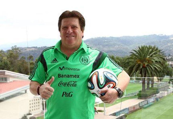 El director técnico de la Selección Mexicana de Futbol, Miguel 'El Piojo' Herrera, quien, según la FIFA, ocupa el séptimo lugar del mundo entre los mejores entrenadores de equipos nacionales. (Archivo/NTX)