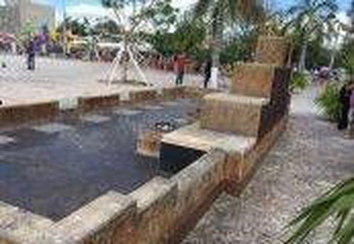 La Dirección de Servicios Públicos Municipales llevó a cabo las labores de limpieza. (Redacción/SIPSE)