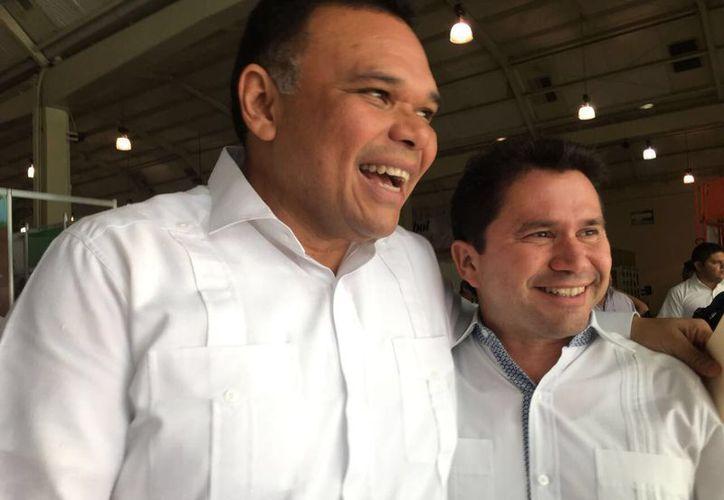 Mauricio Sahuí hará su registro como precandidato del PRI este sábado a las 11:00 horas en la Casa del Pueblo. (Milenio Novedades)