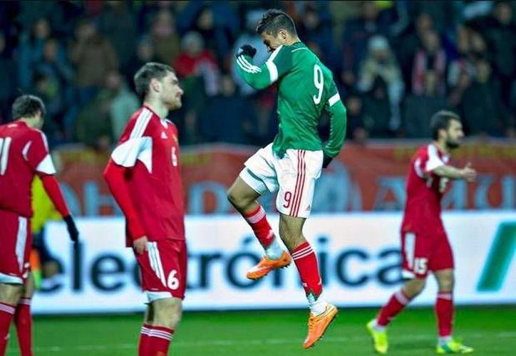 México cerró el 2014 con una derrota en un estadio de Bielorrusia. (goal.com/Foto de archivo)