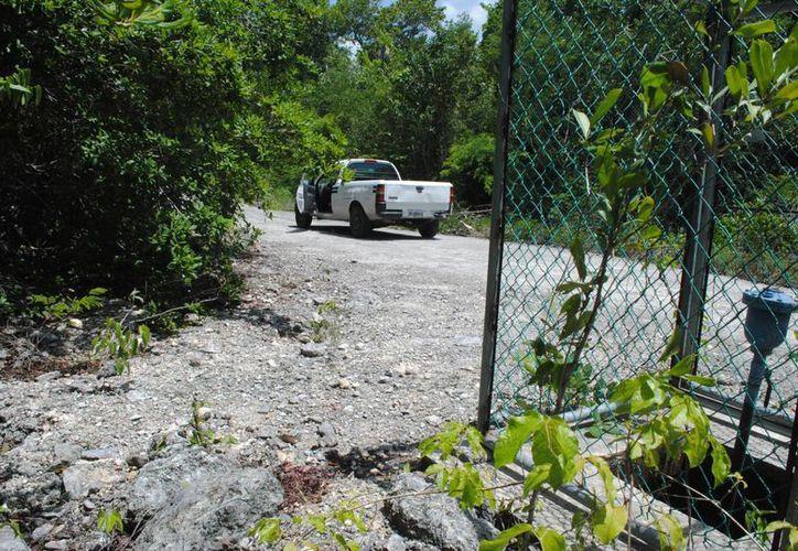 El cuerpo sin vida fue hallado en la Ruta de los Cenotes el pasado jueves. (Redacción/SIPSE)