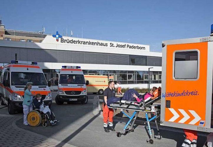 Hospitales que se encuentran en la zona, también tuvieron que ser evacuados.  (Foto: Excélsior)